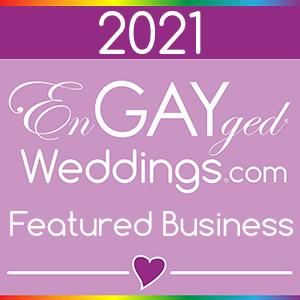 EnGAYged Weddings GLBT Wedding Directory