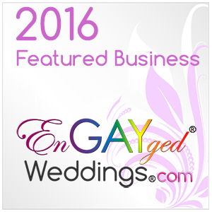 Featured Business on the EnGAYged Weddings LGBT Wedding Directory