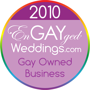 Gay Owned Business on the EnGAYged Weddings LGBT Wedding Directory