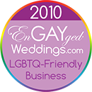 LGBTQ-Friendly Business on the EnGAYged Weddings LGBT Wedding Directory