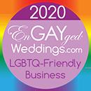 LGBTQ-Friendly Business on the EnGAYged Weddings LGBT Wedding Directory