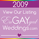 View Our Listing on the EnGAYged Weddings LGBT Wedding Directory