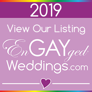 View Our Business on the EnGAYged Weddings LGBT Wedding Directory