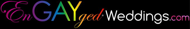 EnGAYged Weddings Logo