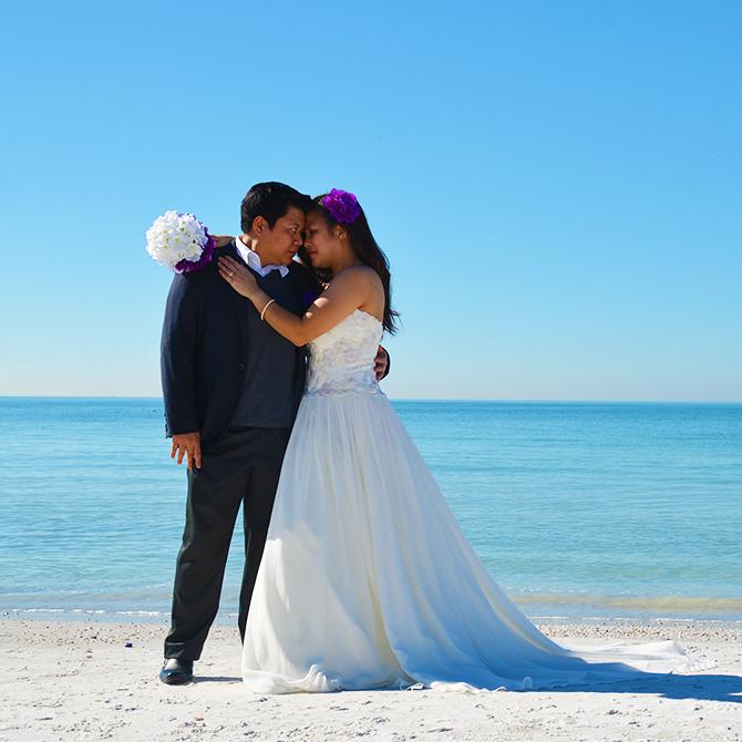 Lesbian beach wedding ideas