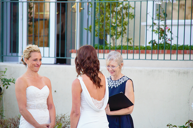 Lesbian marriage in california
