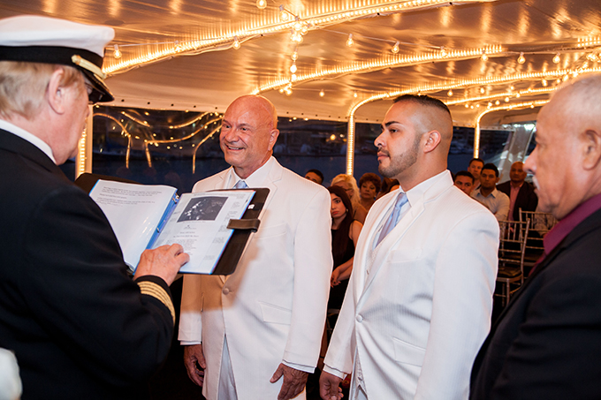 LGBT Maririage ceremony - Charter Yachts of Newport Beach