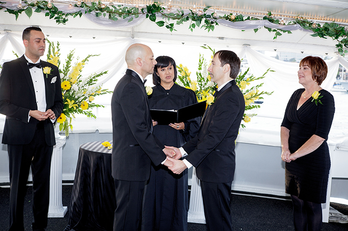 LGBT Ceremony - Charter Yachts of Newport Beach