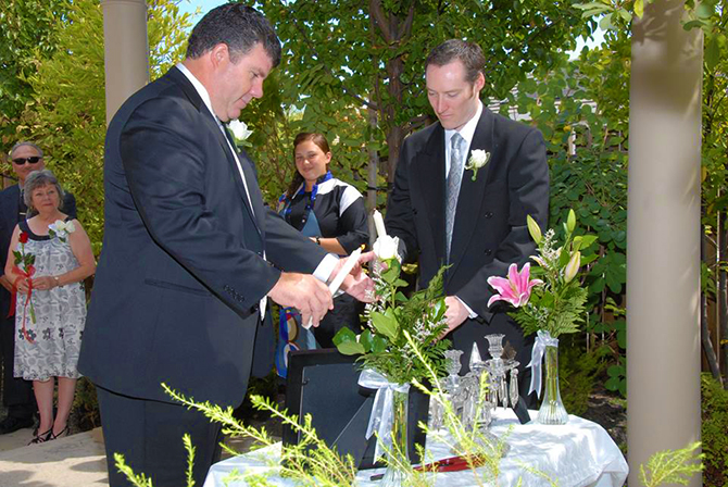 - Sacramento, CA LGBT Wedding Officiant - Forever Inspired - Mitch Darnell