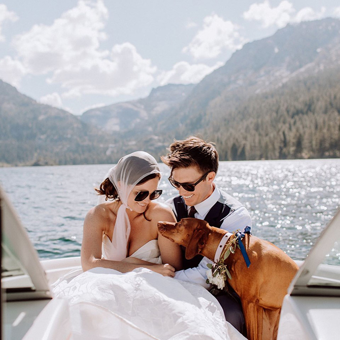 Lake Tahoe LGBT Marriage Ceremony - Mountain High Weddings
