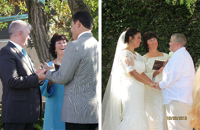 Sacred Ceremonies Priscilla Munson LGBT Wedding Officiant In Long Beach California
