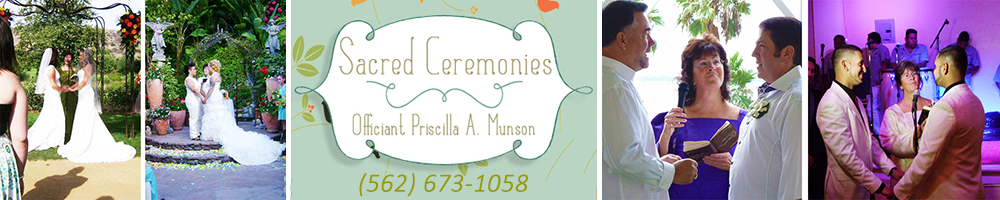 Long Beach, California LGBT Wedding Officiant