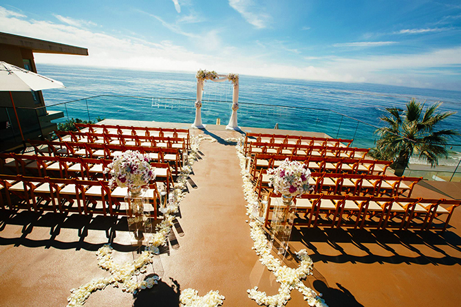 Surf And Sand Resort LGBT Wedding Laguna Beach California
