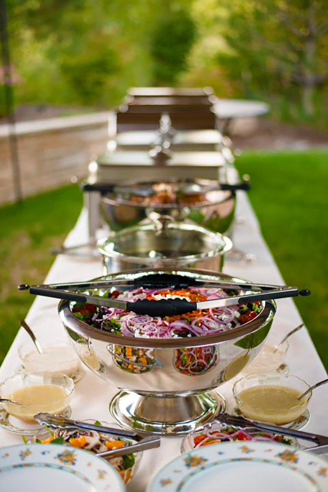 Golden colorado lgbt wedding catering fine and