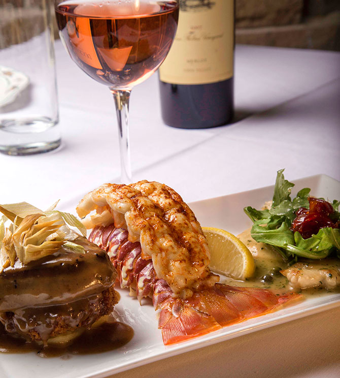 The Briarwood Inn -  Lobster Tail
