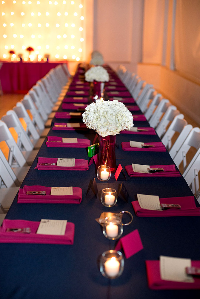 Wash Park Studio - Wedding reception dining table