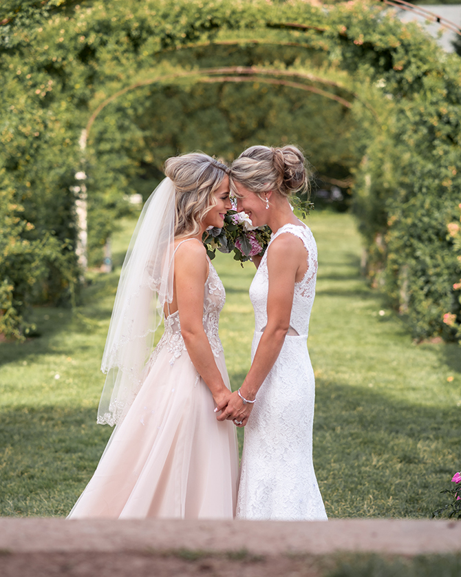Officiant British Minister Veronica Cuthill LGBTQ Wedding Officiant in Connecticut