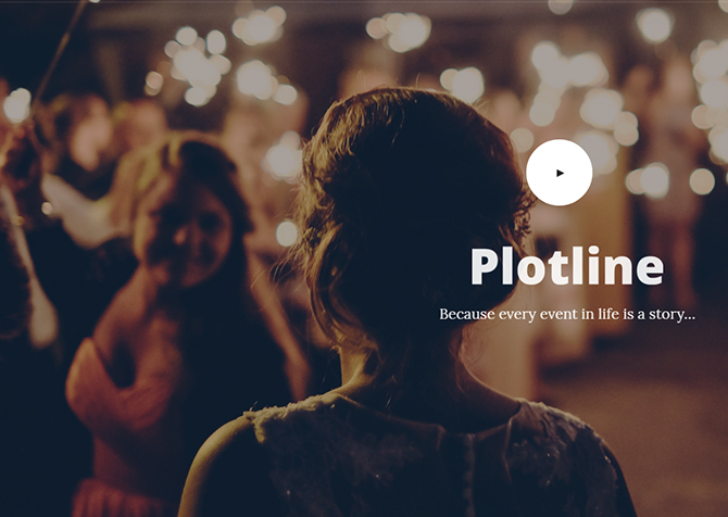 Because Every Event in Life is a Story - Plotline Video Productions