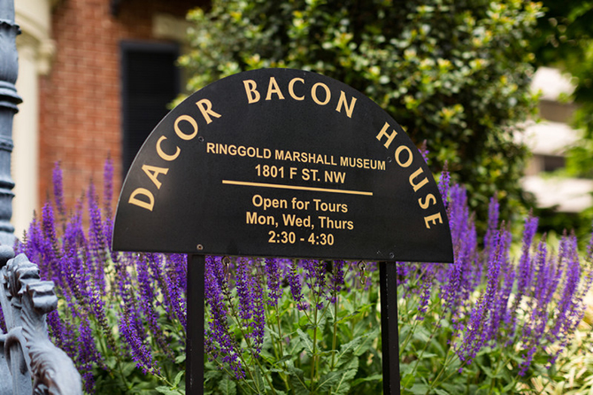 Colonial mansion in Washington DC the DACOR Bacon House
