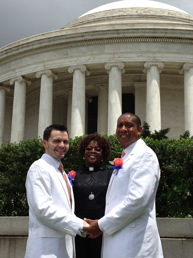 dc same sex marriage officiants in Dover