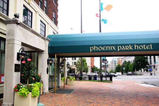 DC LGBT Wedding Receptions and Ceremonies - Phoenix Park Hotel Washington