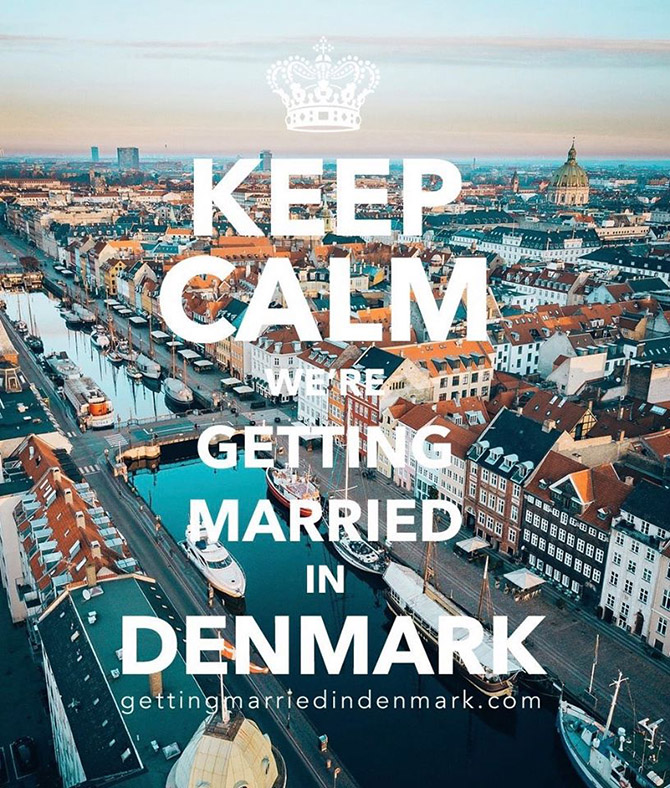 Keep Calm - Getting Married in Denmark - Same-Sex Wedding Planner