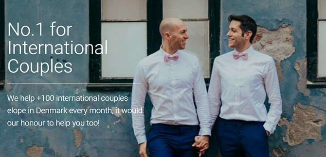 Same Sex Marriage in Denmark - Getting Married in Denmark - Same-Sex Wedding Planner
