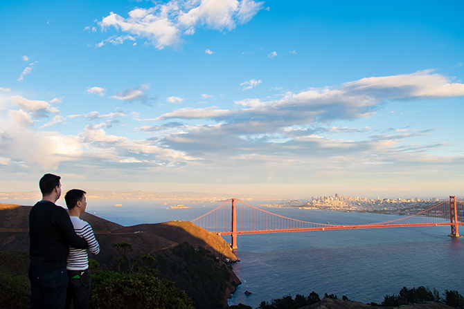 A. Harris Photography - Mr. and Mr.San Fransisco Bridge