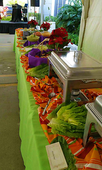 CateringCC - Catered Buffet table