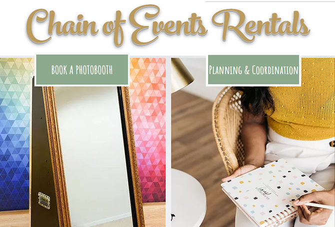 Central Florida Wedding Photo Booth and Party Rentals - Chain of Events Rentals