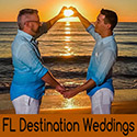 Clearwater Beach, Florida LGBT Beach Wedding Packages
