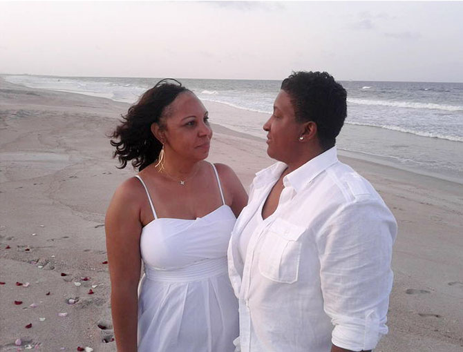 Florida Wedding Celebrant - LGBT Brides beachside