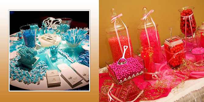 Florida Weddings Online - Wedding Reception Candy Stations