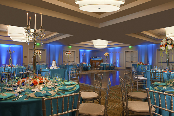 Fort Lauderdale Marriott Pompano Beach Beach Florida Ballroom Reception