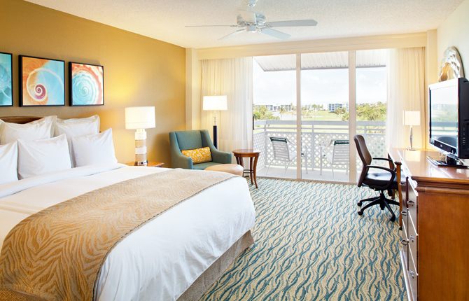 Hutchinson Island Marriott Beach Resort & Marina bedroom suite