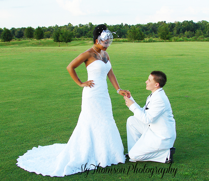 I DO Weddings By Sheri - Proposal Pose For The Bride