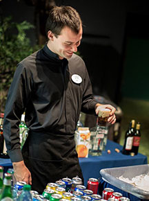 John Michael Weddings & Special Events - friendly bartender