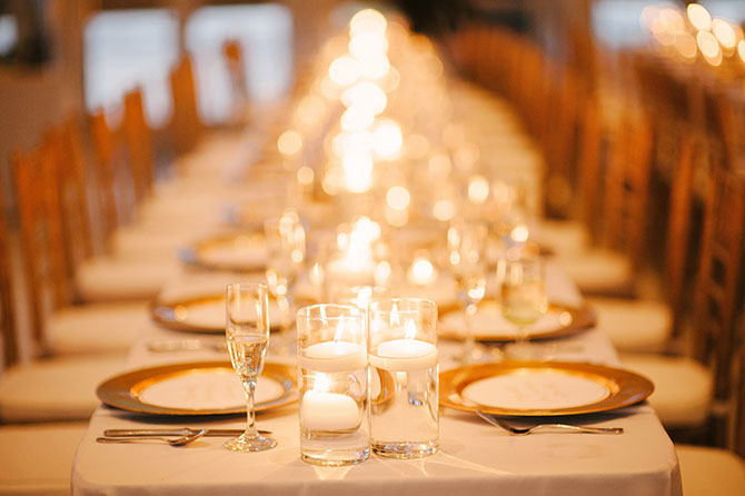 John Michael Weddings & Special Events - classic table setting