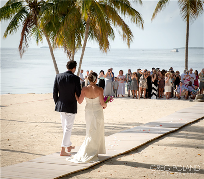 Key Largo Lighthouse Beach Fl Wedding Reception Venue