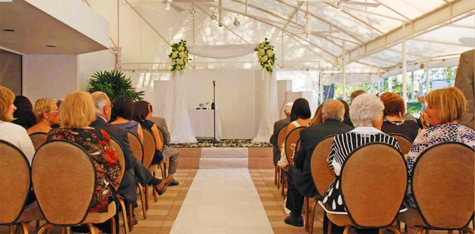 Lakeside Terrace Banquet Center LGBT Wedding venue in Boca Raton Florida