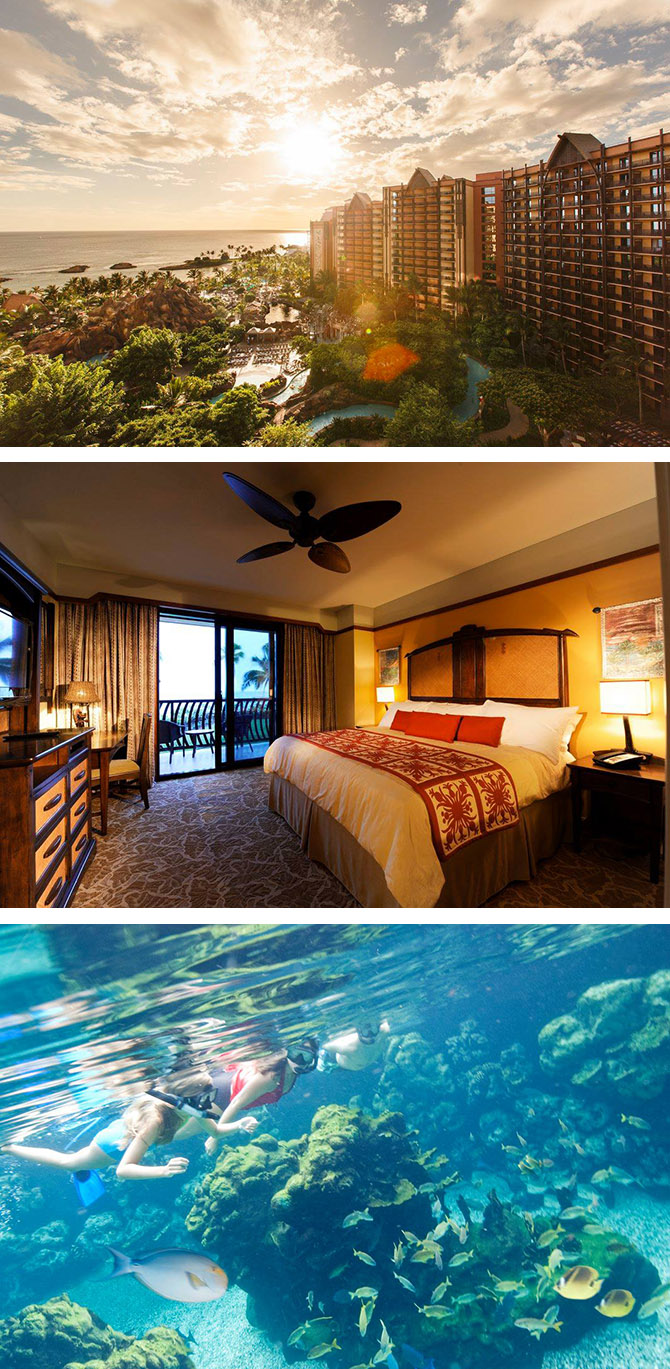 Disney Vacations at Aulani Resort in Hawaii