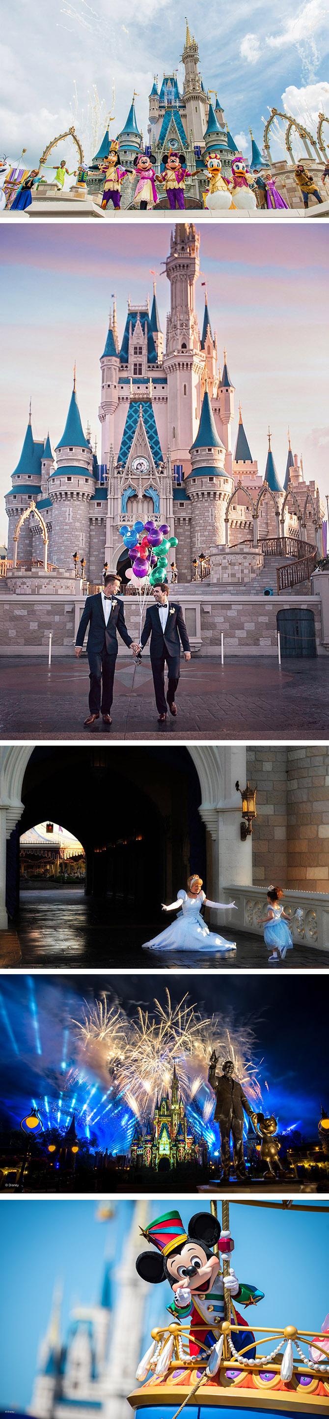 LGBT Weddings Magic Kingdom Vacations in Orlando Florida
