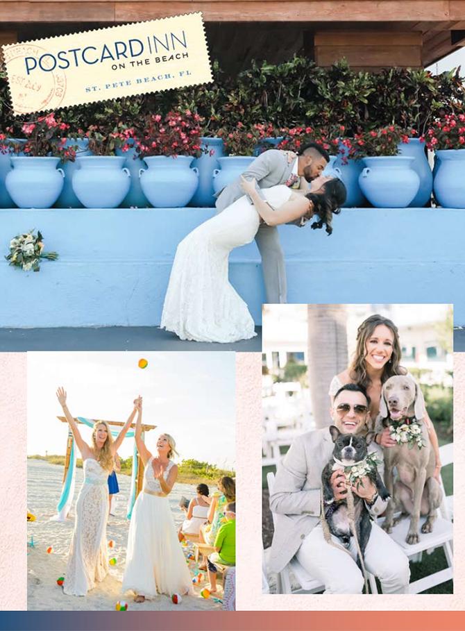St Pete Beach Lgbt Weddings Postcard Inn Florida