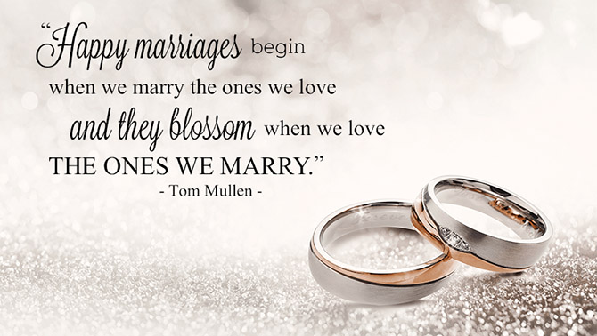 Happy Marriages Poem - Pride Wedding Ceremonies