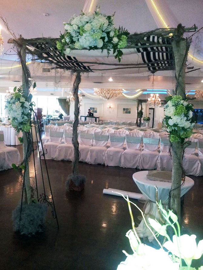 Royal Fiesta Caterers & Event Center - Wedding Ceremony alter