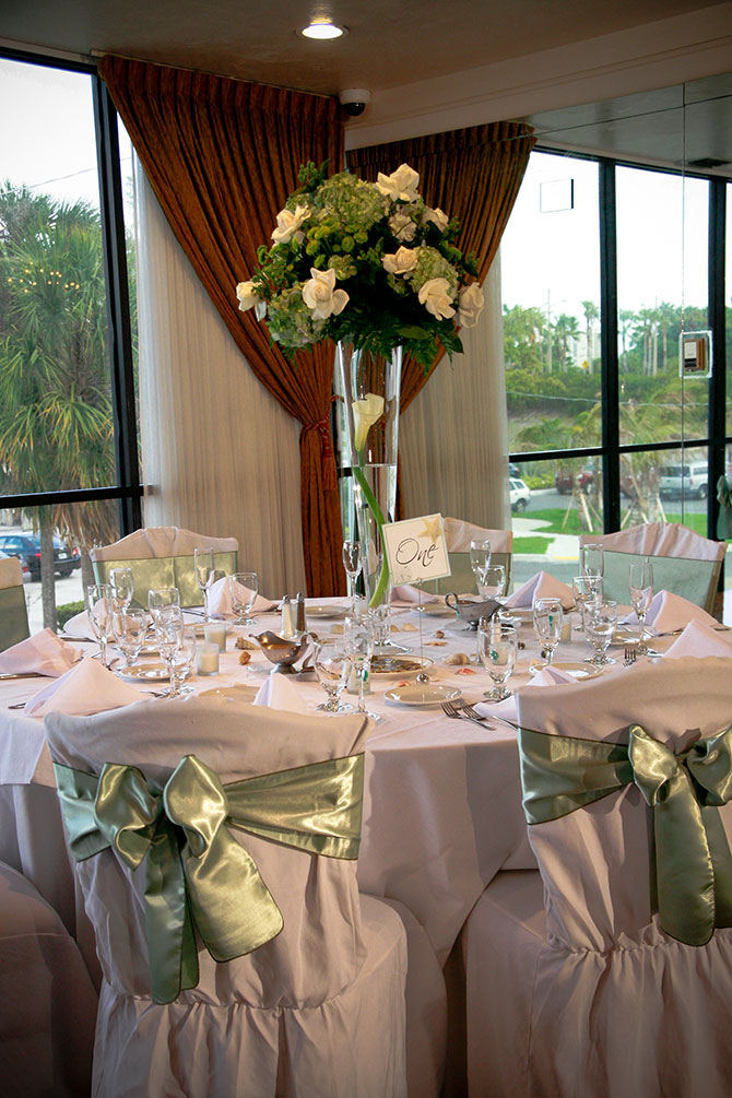 Royal Fiesta Caterers & Event Center - Fully dressed reception table
