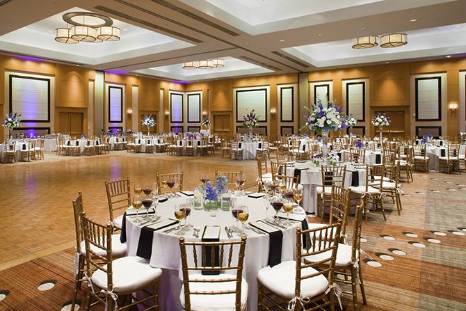 Sawgr Marriott Ponte Vedra Beach Florida Ballroom Reception