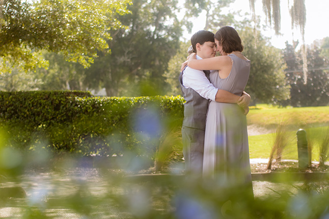 LGBT Couple - Seas Your Day Events - Central Florida LGBT Wedding Venue