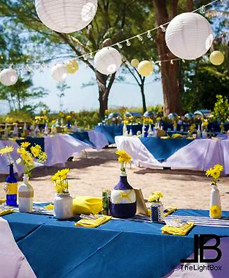 Sunset Beach House - Outdoor Wedding Reception Venue
