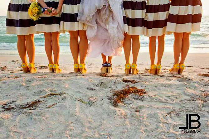 Sunset Beach House - Wedding Party on the Beach